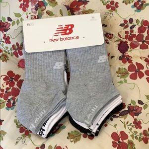 New Balance 6 pair M socks
